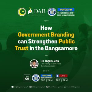 How Government Branding can Strengthen Public Trust in the Bangsamoro