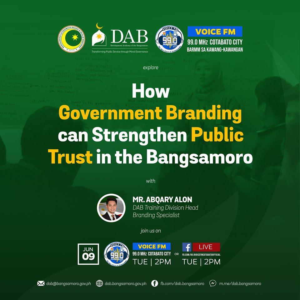 How Government Branding can Strengthen Public Trust in the Bangsamoro