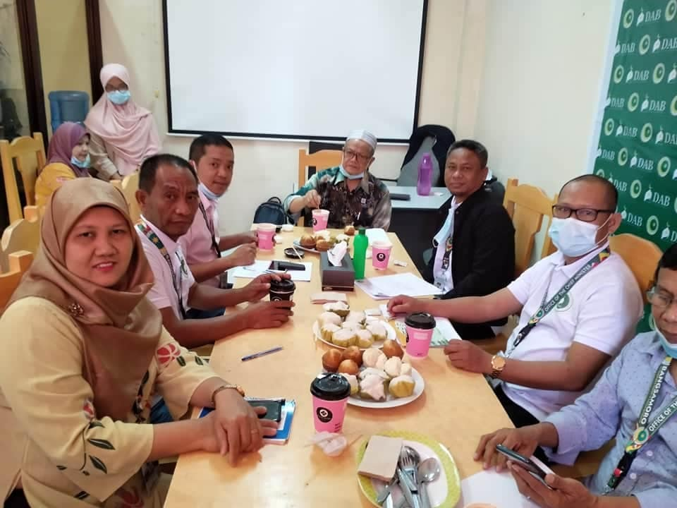 DAB team held its elite interview with MP Sh. Zainodin Bato, a member of the MILF Central Committee.