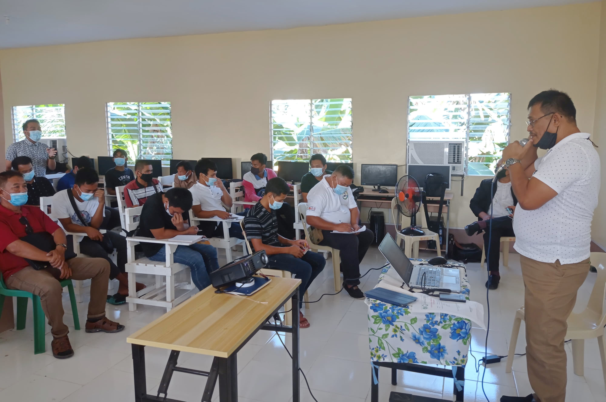 DAB facilitates DRRM Lecture for Al-Ershad College Staff