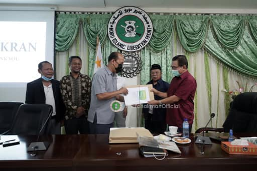 ABDP and DAB presented to MILF and BARMM Chief Minister, Ahod Al Haj Murad Ebrahim the Moral Governance